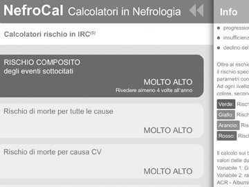 Application NephroCal - Nephrology Calculators